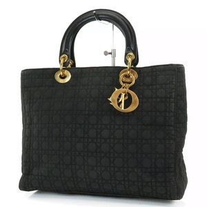 Authentic CHRISTIAN DIOR Lady Dior Bag